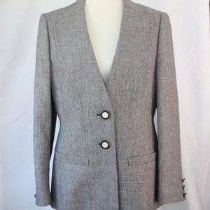 ESCADA Linen Blazer (Missing Button)